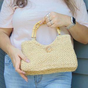 🌞Vintage Woven Handbag